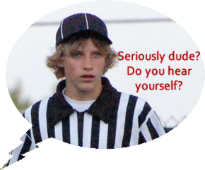 Referee abuse on youth sports