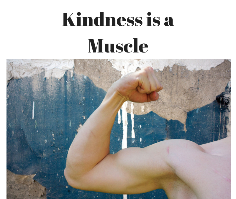 What muscle are you strengthening? Judgement or Kindness